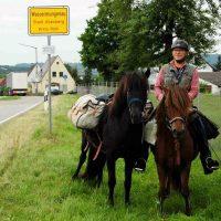 Nach 550 Kilometer-Ritt: Opa holt Enkel von der Schule ab